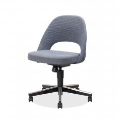 Knoll Saarinen Executive Armless Chair Swivel Base by Eero Saarinen for Knoll - 1838822