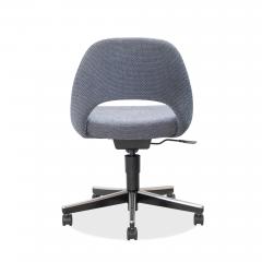 Knoll Saarinen Executive Armless Chair Swivel Base by Eero Saarinen for Knoll - 1838826