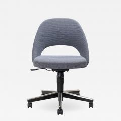 Knoll Saarinen Executive Armless Chair Swivel Base by Eero Saarinen for Knoll - 1839673