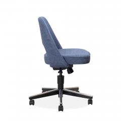 Knoll Saarinen Executive Armless Chair in Woven Leather by Eero Saarinen for Knoll - 1838759