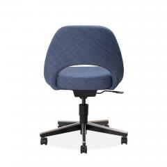 Knoll Saarinen Executive Armless Chair in Woven Leather by Eero Saarinen for Knoll - 1838761