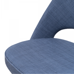Knoll Saarinen Executive Armless Chair in Woven Leather by Eero Saarinen for Knoll - 1838765