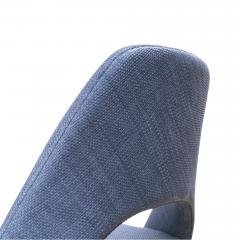Knoll Saarinen Executive Armless Chair in Woven Leather by Eero Saarinen for Knoll - 1838766