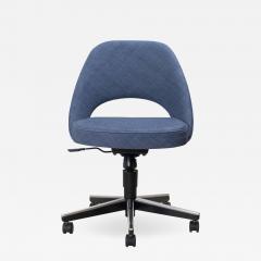 Knoll Saarinen Executive Armless Chair in Woven Leather by Eero Saarinen for Knoll - 1839671