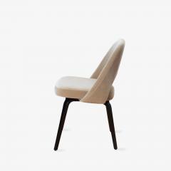Knoll Saarinen Executive Armless Chairs in Mohair Walnut by Eero Saarinen for Knoll - 1796834