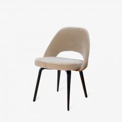 Knoll Saarinen Executive Armless Chairs in Mohair Walnut by Eero Saarinen for Knoll - 1796835