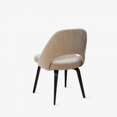 Knoll Saarinen Executive Armless Chairs in Mohair Walnut by Eero Saarinen for Knoll - 1796837