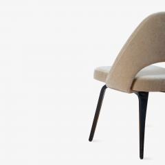 Knoll Saarinen Executive Armless Chairs in Mohair Walnut by Eero Saarinen for Knoll - 1796842