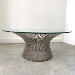 Knoll Warren Platner Wire Coffee or Cocktail Table for Knoll USA 1966 - 1610787