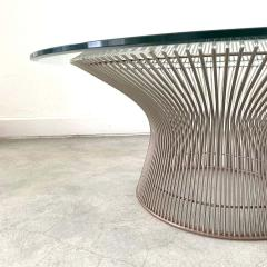 Knoll Warren Platner Wire Coffee or Cocktail Table for Knoll USA 1966 - 1610789