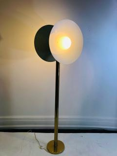 Koch Lowy Exceptional Brass Floor Lamp with Unusual Design by Koch and Lowy - 1011088