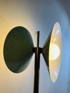 Koch Lowy Exceptional Brass Floor Lamp with Unusual Design by Koch and Lowy - 1011092