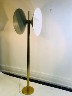 Koch Lowy Exceptional Brass Floor Lamp with Unusual Design by Koch and Lowy - 1011093