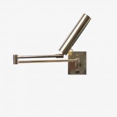 Koch Lowy Koch Lowy Swing Arm Articulating Brass Reading Wall Light Lamp - 1769646