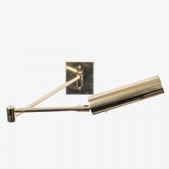 Koch Lowy Koch Lowy Swing Arm Articulating Brass Reading Wall Light Lamp - 1769647