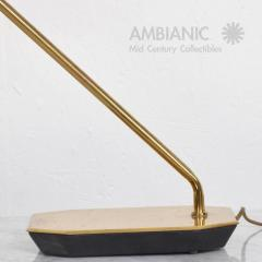 Koch Lowy Mid Century Modern Anthony Howard for Koch Lowy Brass Desk Table Lamp - 378769