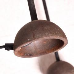 Koch Lowy Modern Memphis Sleek Steel Torchiere Tripod Floor Lamp by Koch Lowy 1980s - 2052156