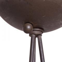 Koch Lowy Modern Memphis Sleek Steel Torchiere Tripod Floor Lamp by Koch Lowy 1980s - 2052159