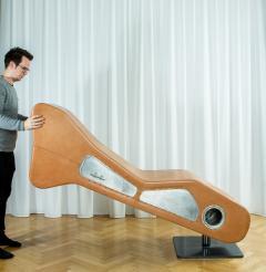 Kohlmaier Manufaktur Sculpture a 360 degree swivel upright horizontal vertical bench - 1069553