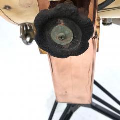 Koito Ltd Copper Brass 1980s Koito Searchlight on British MOD Tripod - 1117546