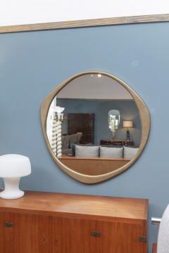 Konekt A Cepa Cast Bronze Wall Mirror by Konekt - 1896944