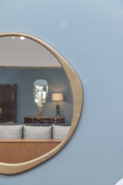 Konekt A Cepa Cast Bronze Wall Mirror by Konekt - 1896945