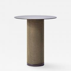 Konekt Armor Side Table with Cylindrical Base - 988138