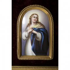 Konigliche Porzellan Manufaktur Berlin KPM Porcelain Plaque Mary Magdalene  - 174957