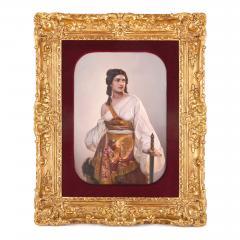 Konigliche Porzellan Manufaktur KPM Antique German KPM porcelain panel of Judith with the Head of Holofernes - 1256047