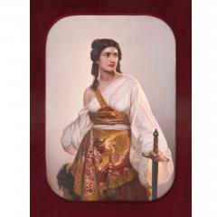Konigliche Porzellan Manufaktur KPM Antique German KPM porcelain panel of Judith with the Head of Holofernes - 1256048