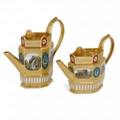 Konigliche Porzellan Manufaktur KPM Antique KPM Porcelain Neoclassical and Egyptian Revival Style Six Piece Tea Set - 1942696
