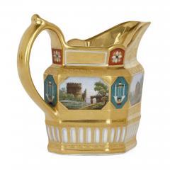 Konigliche Porzellan Manufaktur KPM Antique KPM Porcelain Neoclassical and Egyptian Revival Style Six Piece Tea Set - 1942697