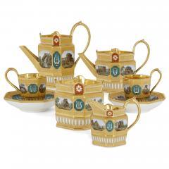 Konigliche Porzellan Manufaktur KPM Antique KPM Porcelain Neoclassical and Egyptian Revival Style Six Piece Tea Set - 1942698