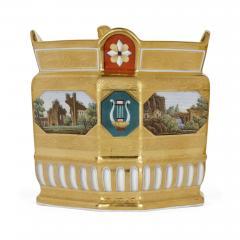 Konigliche Porzellan Manufaktur KPM Antique KPM Porcelain Neoclassical and Egyptian Revival Style Six Piece Tea Set - 1942699