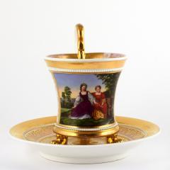 Konigliche Porzellan Manufaktur KPM KPM EMPIRE PORCELAIN CUP - 1615679