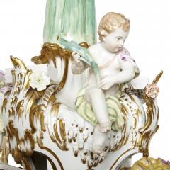 Konigliche Porzellan Manufaktur KPM KPM porcelain and gilt bronze chandelier - 1274437