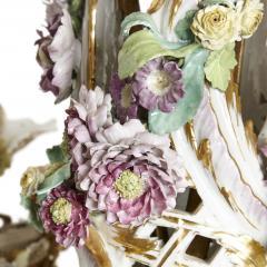 Konigliche Porzellan Manufaktur KPM KPM porcelain and gilt bronze chandelier - 1274438