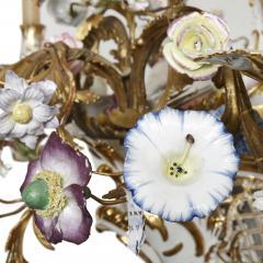 Konigliche Porzellan Manufaktur KPM KPM porcelain and gilt bronze chandelier - 1274440