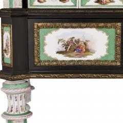 Konigliche Porzellan Manufaktur KPM Ormolu and KPM porcelain mounted display cabinet - 1256195