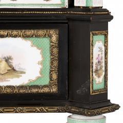 Konigliche Porzellan Manufaktur KPM Ormolu and KPM porcelain mounted display cabinet - 1256199