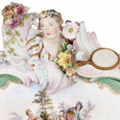 Konigliche Porzellan Manufaktur KPM Ormolu and KPM porcelain mounted display cabinet - 1256203
