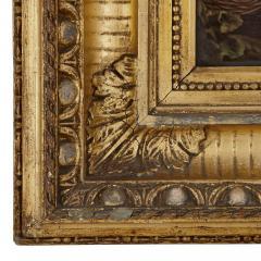 Konigliche Porzellan Manufaktur KPM Two KPM porcelain plaques in giltwood frames after Murillo - 1937754