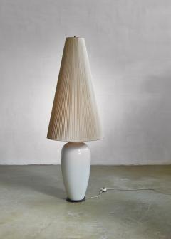 Konigliche Porzellan Manufaktur KPM White porcelain table or floor lamp by KPM Germany 1950s - 797991