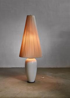 Konigliche Porzellan Manufaktur KPM White porcelain table or floor lamp by KPM Germany 1950s - 797995