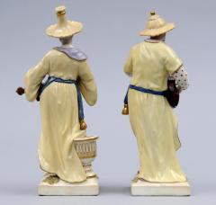 Konigliche Porzellan Manufaktur Pair Berlin KPM Porcelain Figurines Circa 1830 - 266803