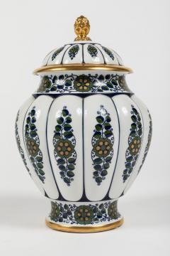Krautheim China Paint Decorated Lidded Urn by Krautheim China - 1347789