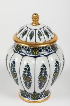 Krautheim China Paint Decorated Lidded Urn by Krautheim China - 1347790