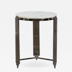 Kravet Inc Alexandria Side Table Nickel - 1770104
