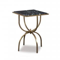 Kravet Inc Balin Side Table Black - 1769591