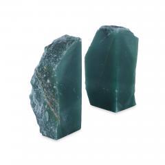 Kravet Inc Matheus Green Quartz Bookends  - 1777352